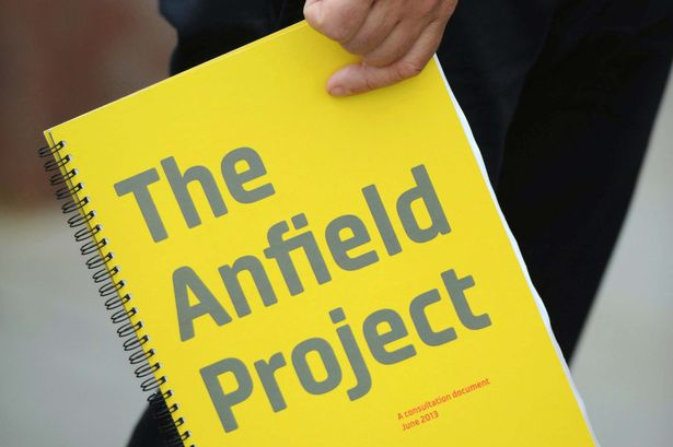 Liverpool City Council announced its plans to transform the Anfield area.