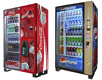 Cold drinks vending machines Wrexham