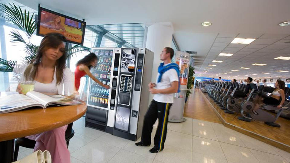 Snack Vending Machine Hire In Chester