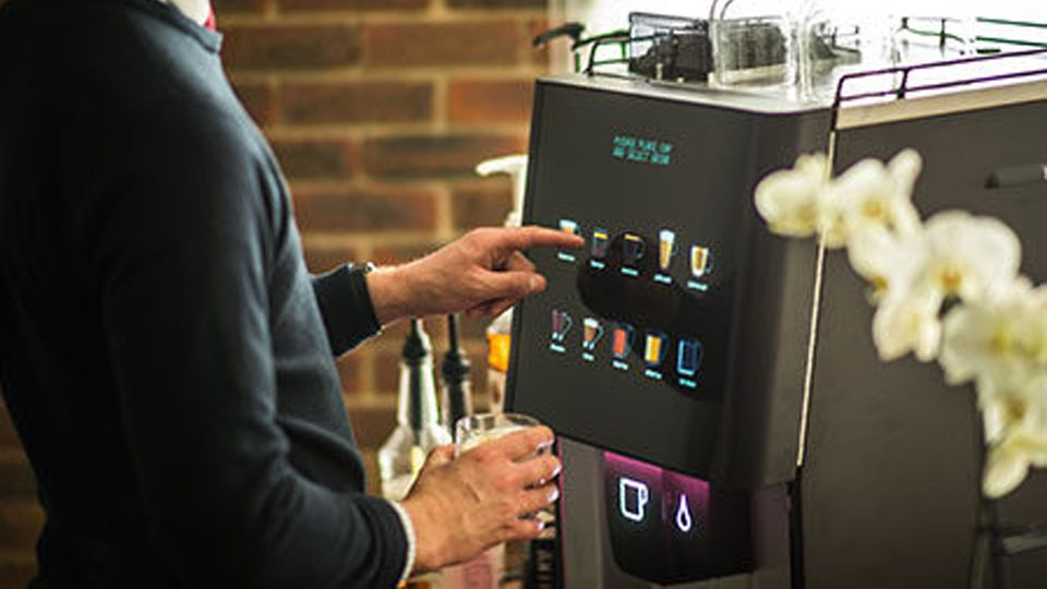 Coffee Vending Machine Hire In Warrington