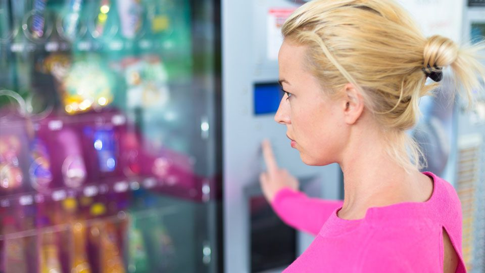 Vending Machine Hire In Conwy